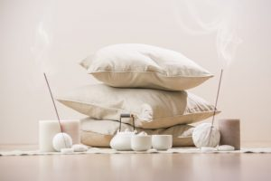 cuscino da meditazione cuscini