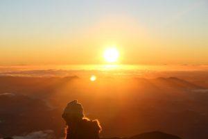 gratitudine e felicità sole