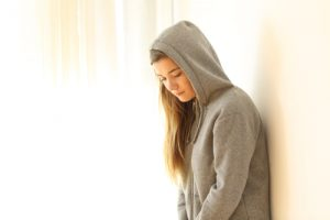 bassa autostima e ansia ragazza