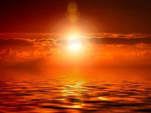 meditazione per ritrovare se stessi sole e mare